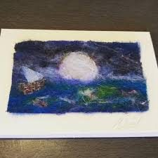 Felted card