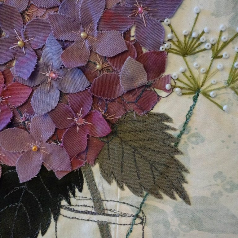 Helen Moyes Designs Hydrangea close up
